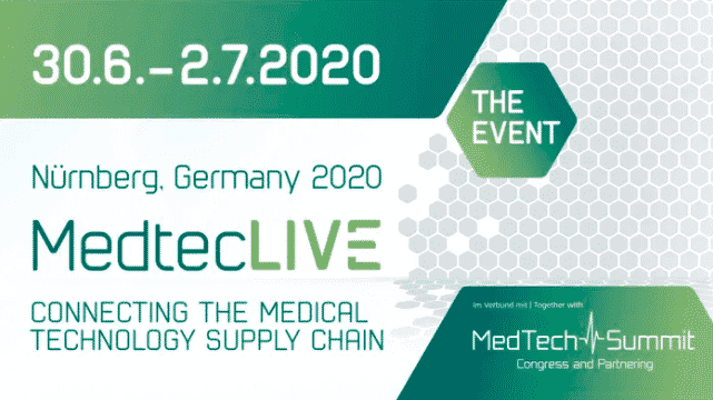 MedtecLIVE Annonce